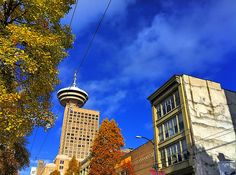 Vancouver Harbour Centre in the Fall - November 2-4, 2012 (www.canadianwebhosting.com)