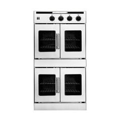 American Range 30 In Double Gas Wall Oven AROFFG-230N Stainless Steel
