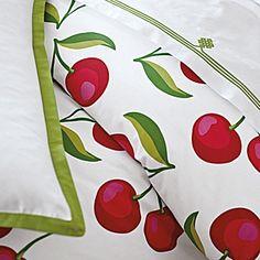 Cherry Duvet cover....cute!