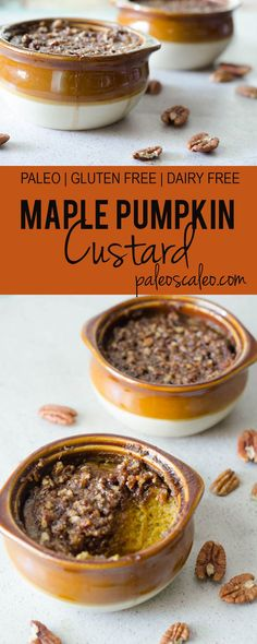 Maple Pumpkin Custar