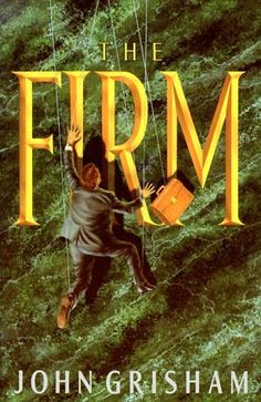 The Firm by John Grisham -- At the top of his class at Harvard Law, he had  his choice of the best in America. He made a deadly  mistake. When Mitch McDeere signed on with  Bendini, Lambert & Locke of Memphis, he thought he  and his beautiful wife, Abby, were on their way.  The firm leased him a BMW, paid off his school  loans, arranged a mortgage and hired him a  decorator. Mitch McDeere should have remembered what his brother Ray — doing fifteen years in a Tennessee  jail — already knew.