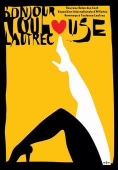 Max Kisman - Bonjour Toulouse-Lautrec, poster, 2001.