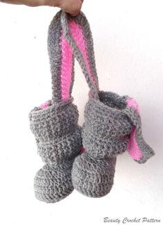 Crochet Bunny Hat Pattern - Micah Makes