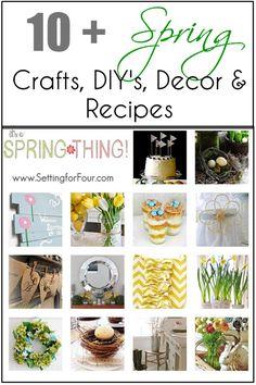 diy crafts, spring crafts