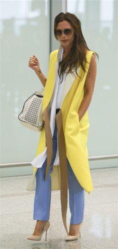 Love this look Victoria Beckham #fashion #Victoriabeckham