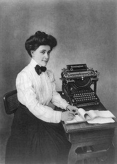 the typewriter....
