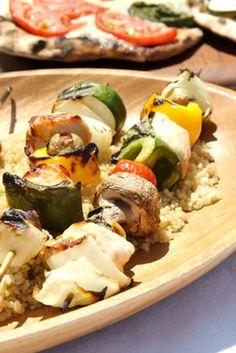 Grilled Chicken w/ Quinoa & Vegetables