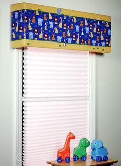 DIY Animal Adventures Window Cornice