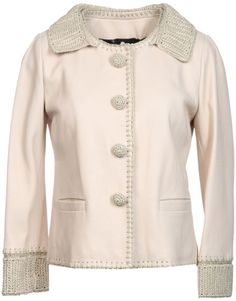 Dolce & Gabbana Leather Outerwear @Lyst