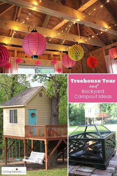 Tree House Tour and
