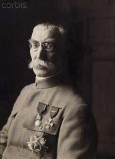 Joseph Gallieni (1849-1916), French general. In 1915.