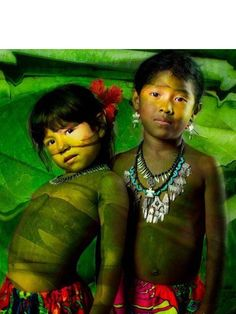 Children of the Amazon Rainforest