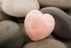 Pretty pale pink heart.