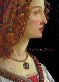 Ginevra de' Benci, by Leonardo