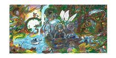 """Doodle 4 Google 2014 Winner: """"To make the world a better place, I invented a transformative water purifier."""""""