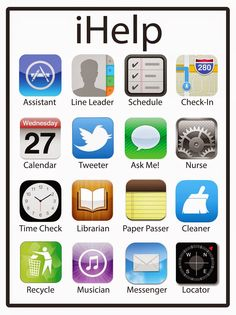 iHelp {FREEBIE} A fun way to get your students involved in taking care of their classroom community and environment!
