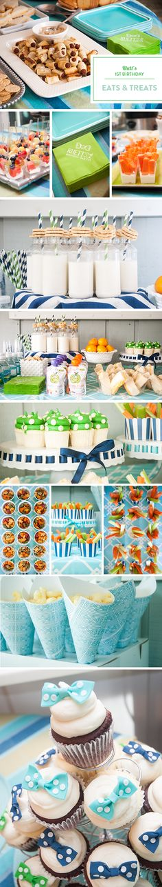 Rhett's Southern First Birthday Party by Emily McCarthy - Party Food Presentation Ideas