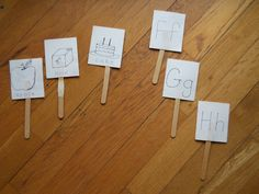Pre-Reading ABC Sticks