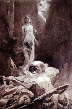 Le Pater by Alphonse Mucha (1900) // !!!!!!