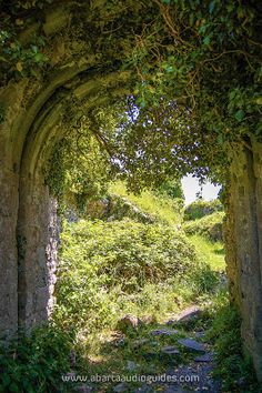 The entrance to Rindoon Castle, fascinating site that is well worth a visit