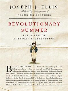 The pivotal summer of 1776 is described from two sides by historian Joseph J. Ellis. WMA Audiobook.