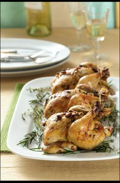 Middle Eastern Cornish Hens