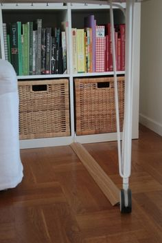 hiding cables - i need to do this in my living room!!!! Lamp cords need to be hidden!