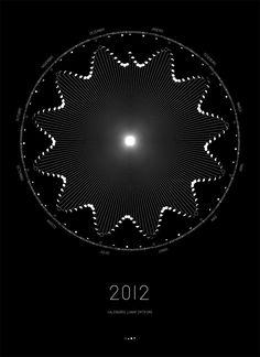 Moon Calendar 2012
