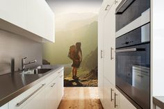 kitchen wallpaper mural