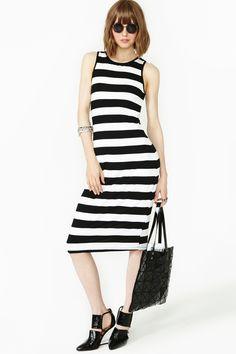 Fall In Line Dress