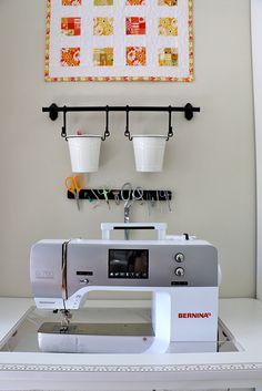 See inside Lee Heinrich's beautiful sewing studio!