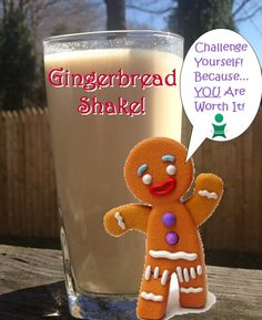 Body by Vi Shake Recipe    2 scoops of Vi-shake mix, 8oz. of soy milk, 1 tsp. of gingerbread pudding mix, 4 ice cubes, blend and enjoy!