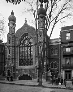 Montreal Synagogue, 1910-1911, Photo from McCord Museum, via Flickr