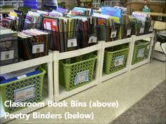 Video about classroom libraries...BUT also dozens of free labels to print