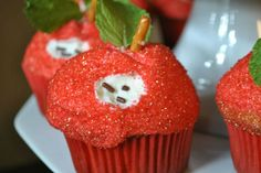 Back to School Cupcake Ideas delici food, back to school cupcake ideas, schools, cupcak idea, appl cupcak, apples, recip, back to school cupcakes, backtoschool