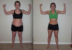 "Mom Brittney S. lost 27 pounds and 10"" off her waist with #INSANITY #ShaunT"