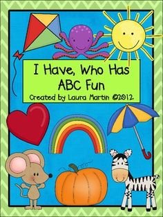 I Have, Who Has-ABC Fun $2