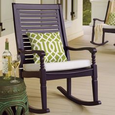 I want this for my front porch - just not sure what color...they have a lot of colors.