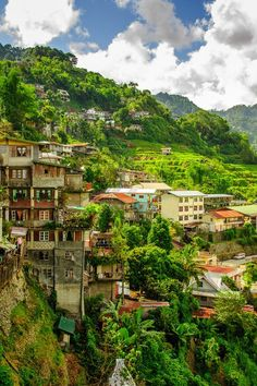 Banaue Village in North Luzon, The Philippines