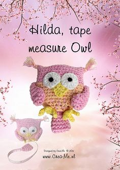 Crochet Tape Measure Cover- $$ pattern