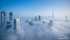 Cloud City by Sebastian Opitz, via 500px