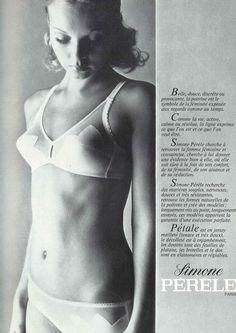 #vintage #ad #70s #lingerie #chic #paris