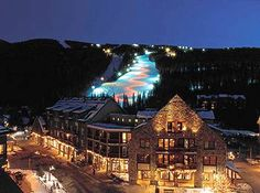Keystone Colorado - ski in the day, ski at night. Great park, fun on powder days.  An all around fantastic ski resort.