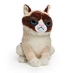 ThinkGeek :: Grumpy Cat Plush