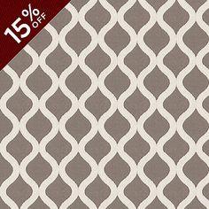 Haviland Gray Fabric by the Yard Ballard Designs #celebrateballard