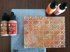 Vintaj Patinas Techniques with Special Guest Blogger Els Van de Burgt from Elizabeth Craft Designs