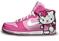 beats, hello kitti, fashion, fur, rock, hairstyl, nike shoes, nike sneakers, hello kitty