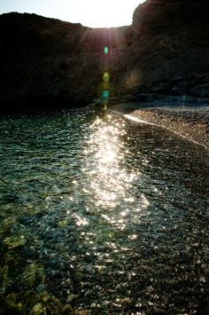 Vritomartis Naturist Resort: Filaki Beach area next to the hotel from Nusbaum