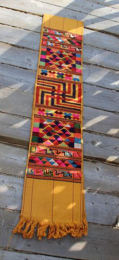 Multi colored vintage Guatemalan handwoven by SandrasCornerStore, $46.00