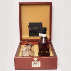 Highland Park 1958, 40 Year Old with Crystal Decanter
